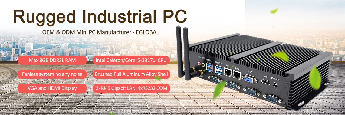 Eglobal New Fanless Best Mini PC 2019