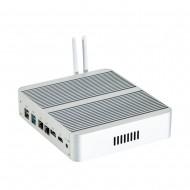 I5 7260U Fanless Mini PC Windows 10 Micro Computer 2 DDR4 Msata M.2 SSD TV Box 4 K HD Quality HTPC System Mini PC 300M Wi-Fi