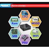 16G DDR4 Core i3 6100u Minipc Barebone Windows 10 pro intel HD Graphics 520 Eglobal Nettop i3 Windows Mini PC i3