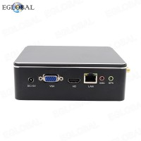EGLOBAL Mini Computer DDR3 Intel Dual Core Mini PC Linux Celeron 2955U Win10 AC Wifi 4K HTPC HDMI 8GB RAM