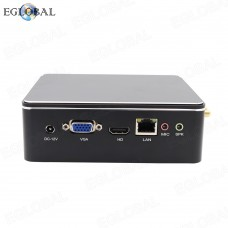 EGLOBAL Mini Computer DDR3 Intel Dual Core Mini PC Linux Celeron 2955U Win10 AC Wifi 4K HTPC HDMI 8GB RAM