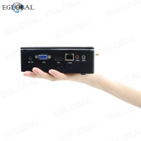 DDR3L Version EGLOBAL Best Fan Mini PC Intel Core i5-7200U Pocket Mini PC DC RJ45 LAN 300M WIFI Desktop Computer PXE RTC