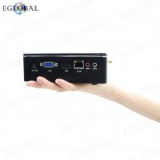 DDR3L Version EGLOBAL Best Fan Mini PC Intel Core i5-7200U Pocket Mini PC DC RJ45 LAN 300M WIFI Desktop Computer PXE RTC
