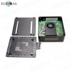 Fan Nuc Mini PC Intel Core i3 6167U Windows 10 Pro Barebone Computer DDR3L 2.7GHz Graphics 4K HTPC minipc HDMI VGA