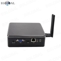 EGLOBAL Intel Core i5 6267U Fan Mini PC Windows 10 Linux Barebone Micro Desktop Computer HD 4K Minipc TV Box Max 8GB RAM