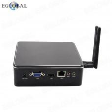 EGLOBAL Intel Core i5 6267U Fan Mini PC Windows 10 Linux Barebone Micro Desktop Computer HD 4K Minipc TV Box Max 8GB RAM
