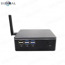 New Desktop Mini PC Intel Core i7 6567U Processor Windows 7/8/10 Linux HDMI VGA 300M WiFi Nettop Minipc