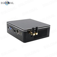 DDR3L Fan Mini PC Windows 10 Barebone Nuc Intel Core i3 7167U 2.8GHz Iris Plus 650 Graphics Micro PC 4K HTPC wifi HDMI VGA Gaming Computer