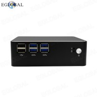EGLOBAL Mini Computer DDR3 Haswell Mini PC Win 10 Intel Core i3 4010U Max 1.7GHz Graphics HD 4400 AC Wifi Bluetooth HDMI