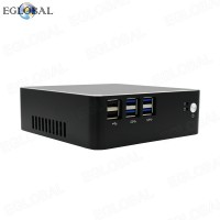 DDR3L Version EGLOBAL Best Fan Mini PC Intel Core i3-7100U Pocket Mini PC DC RJ45 LAN 300M WIFI Desktop Computer PXE RTC