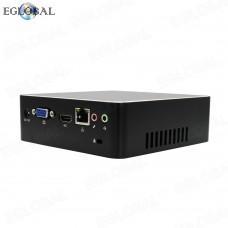 EGLOBAL Mini Computer DDR3 Intel Dual Core Mini PC Linux Celeron 2955U Win10 AC Wifi 4K HTPC HDMI 16GB RAM  Mini DP