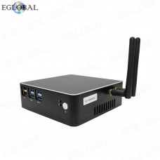 Fan Mini PC Intel Core i5 6267U 4K HTPC HDMI VGA WiFi DDR3 Windows Small Computer Linux Minipc NUC