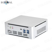 Cheap Mini PC System Unit Intel i7-7820HK 2*DDR4 M.2 NVME Gaming Computer Office PC HTPC 4K HDMI DP Type-C AC WiFi
