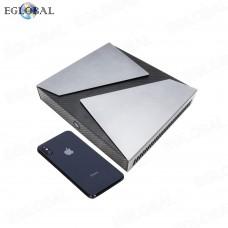 EGLOBAL Fan Gaming PC M.2 2280 SATA/NVME/PCIE3.0 SSD Intel Core i9 8950HK mini computer GTX1650 Barebone Windows Desktop