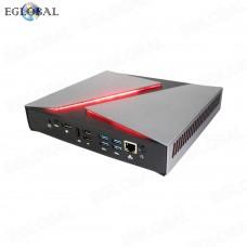 Eglobal GeForce GTX1650 Gaming Computer Dual Graphics Desktop 9th Intel Core i7 9750H Mini PC 4k Display HDMI DP Bluetooth4.0