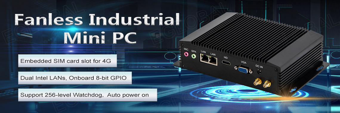 Eglobal New Industrial Mini PC