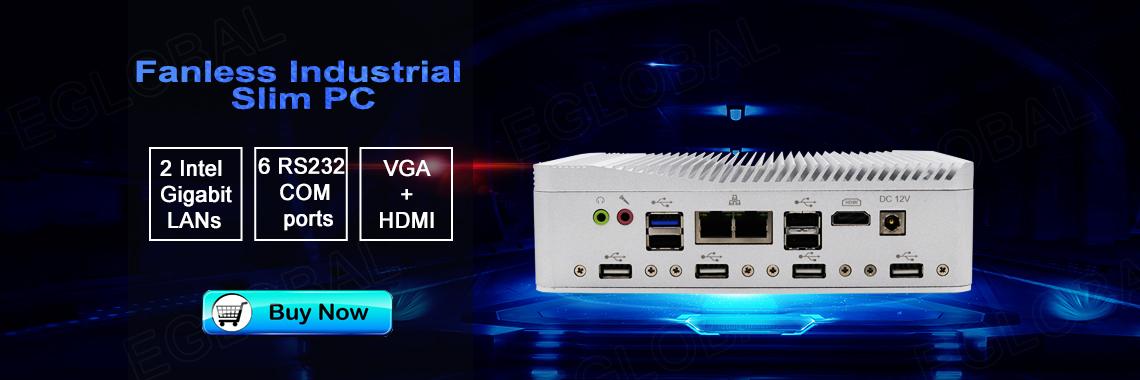 Eglobal New Industrial Fanless Mini PC
