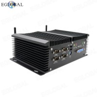 Eglobal Industrial Multifunctional Mini PC Intel Celeron J1900 Pfsense Computer 24/7 Hours Working Rich Interfaces GPIO LPT HDMI