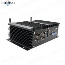 Eglobal Industrial Multifunctional Mini PC Intel Celeron J1900 Pfsense Computer 24/7 Hours Working Rich Interfaces GPIO LPT HDMI