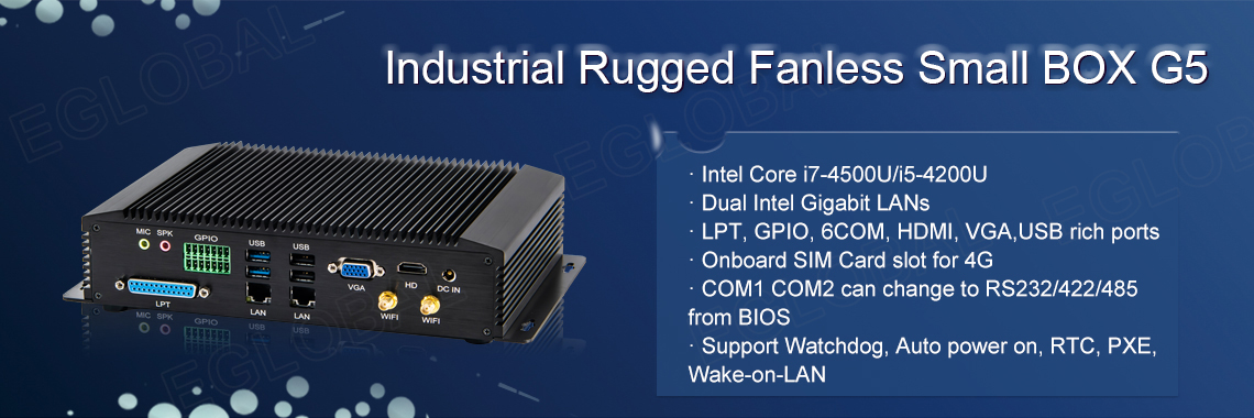 Eglobal Pfsense Router Industrial Fanless Mini PC