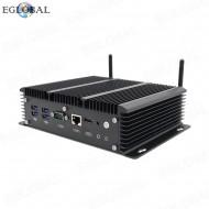 Industrial PC Intel Celeron 3865U Mini Computers 16GB DDR3L 6 LAN Windows Linux Desktop PC 4usb3.0 RJ45 COM HDMI