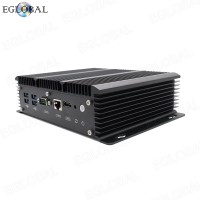 Fanless 6 Lan Industrial Intel Mini PC Core i5 7267U Firewall PC Pfsense Router 4*USB3.0 2*RS232 HDMI 4G/3G WiFi
