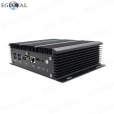 Fanless 6 Lan Industrial Intel Mini PC Core i5 7267U Firewall PC Pfsense Router 4*USB3.0 2*RS232 HDMI 4G/3G WiFi