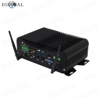 Eglobal Industrial Computer Intel Core i5 8250U DDR4 Desktop Mini PC 4 RS232/422/485 COM WES7/10 Windows LPT GPIO PS/2