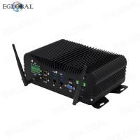 Eglobal Industrial Computer Intel Core i5 8250U DDR4 Desktop Mini PC 4 RS232/422/485 COM WES7/10 Windows LPT GPIO PS/2