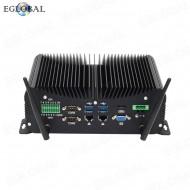 Eglobal Industrial PC 6*DB9 COM Intel Core i7 6567U 2LAN DDR4 WES7/10 Fanless Mini Computer GPIO PS/2 LPT SIM card Desktop HD VGA Watchdog