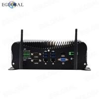 New 10th Gen Industrial Fanless Mini Computer Intel i7 10510U Rugged PC 6*COM 2*Lan 8*USB GPIO HDMI+VGA 4G WiFi