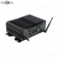 Industrial Fanless Mini PC Intel Core i5-7267U Rugged Computer 6*COM 2*Lans 8*USB GPIO LPT PS/2 HDMI VGA 4G WiFi Watch Dog