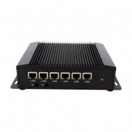 Eglobal Industrial Mini PC Intel Celeron 2955U 6 Lans Firewall Router Pfsense Server 2*RS232 4*USB3.0 HDMI 4G/3G AES-NI