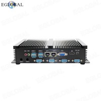 Cheapest Industrial Mini Computer 1007U 4 RS232 COM 2 Gigabit Lan WIFI VGA HDMI Barebone System Max 8GB DDR3 Fanless Mini PC