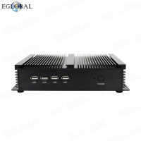 Eglobal Industrial Mini PC Intel Core i5-3317U 3 MB SmartCache Dual Core RJ45 LAN  4 RS232 COM Desktop Computer