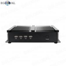 Eglobal Industrial Mini PC Intel Core i5-3317U 3 MB SmartCache Dual Core RJ45 LAN  4 RS232 COM Desktop Computer