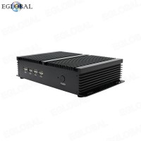 Eglobal INTEL Celeron 1037U Industrial Rugged Computer With 2 Gigabit Lan 4 RS232 COM HTPC Factory Computer Fanless System Mini PC