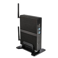 Eglobal Intel Quad Core Fanless Mini PC J1800 Max 2.58GHz Intel HD Graphics 1080P HTPC TV Box Windows Computer Linux Micro PC