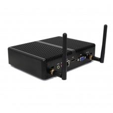 Intel Core i5 CPU Core i5 4200U Barebone Mini PC Windows 10 Fanless PC Win7 Linux HTPC VGA HDMI Gigabit Lan