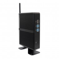 Cheapest Intel Core i3 5005U Fanless Mini PC Windows 10 Pro Barebone Computer DDR4/DDR3 2.4GHz 4K HTPC WiFi HDMI VGA