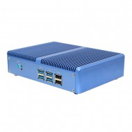 Cheap Mini PC Computador Celeron N3150 Fanless Best Micro PC Windows or Linux with Dual HDMI 2 LAN as VPN Router