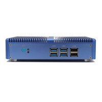 Fanless Nuc Core i3 4010Y DDR3L Memory Mini PC Linux Windows 10 Graphics HD 4200 4K HTPC HDMI VGA Computer