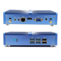 New Fanless Nuc Core i5 6200U DDR3L Memory Mini PC Linux Windows 10 Pro Graphics HD 520 4K HTPC HDMI VGA Computer