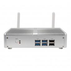 EGLOBAL Nuc Single Lan Fanless Mini PC Windows 10 Linux Barebone Computer Intel 7200U DDR3L VGA HDMI TV Box HTPC