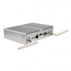Intel Core i3 7100U Barebone Mini PC 16GB Max DDR4 Minicomputer Windows 10 Pro Fanless Desktop