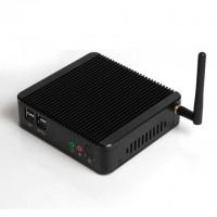 Fanless Mini PC Celeron j1900 Dual LAN HDMI VGA USB COM Small Industrial Computer Windows 8 HTPC