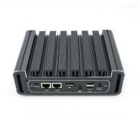 Eglobal Fanless 4k Mini PC Pfsense Computer Intel Core i5 6200U DDR4 Ram Dual NIC Dual COM AES-NI DP HDMI 4G WIFI Supported