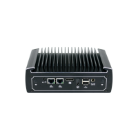 4k Fanless Mini PC Pfsense Computer Intel Core i5 6200U DDR4 Ram Dual NIC Dual COM AES-NI DP HDMI 4G WIFI Supported