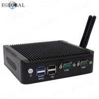 EGLOBAL PfSense 2 ethernet Ports Intel Celeron N3160 Barebone Micro Computer Fanless Linux Router Firewall Mini PC