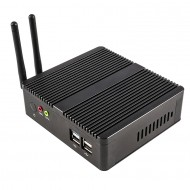 Small Desktop PC Intel Celeron J1900 Quad Core Mini PC Office Net Computer Dual Lan HDMI USB WIFI Router